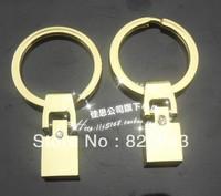 wholesale 20pcs/lot Golden Key Clasp 8mm fit 8mm belt DIY charm fittings accessory