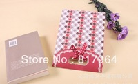 wholesale 120 Pcs/Lot Bow Jewelry Packaging Gift Bag Black