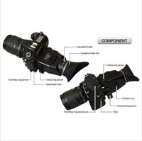 free shipping+ tracking number Swivi GGS DSLR Video-DSLR 3x 3,0 Zoll (4:3) 3x LCD Viewfinder Loupe