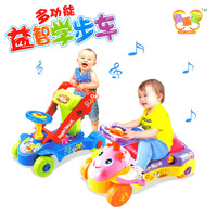 Multifunctional intelligent 2012 multifunctional toddler stroller educational toys 3.9