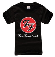 Foo Fighters Classic FF Logo Unisex T-shirt US rock band DAVE GROHL T SHIRT cotton plus size S/M/L/XL/XXL