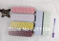 Free Shipping!! Hot! 12 pcs / Lot, Flower Miss Hand Push Box / Tin Pencil Case / Pencil Case / Tin Pencil Box