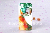 100pcs/lots, For iphone 5 skin, shell for iphone 5 with free shipping