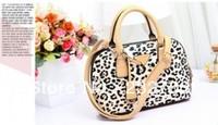Free Shipping 2013 Latest fashion leopard handbag luxury handbag small shells shoulder bag handbags tote with strap