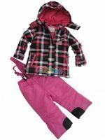 Child ski suit ski suit ploughboys thickening wadded jacket set outdoor jacket