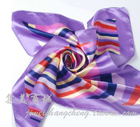 Silk Scarf Work Wear Small Facecloth Silk Female Spring and Autumn Scarf