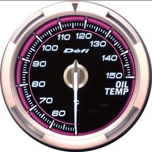 2.5 INCH 60MM Defi Adiantamento C2 Gauge, Temp Oil Gauge / óleo do carro medidor de temperatura , Rosa Modelo, White Light , DF13002(China (Mainland))