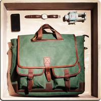 Cattle xx bag male women's handbag vintage 201 preppy style messenger travel bag big bag canvas handbag bag
