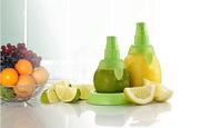 2pcs Fruit Spray Tool Juice Extractor Juicer Lemon Orange Lime Sprayer Kitchen Tool E449 Free shipping