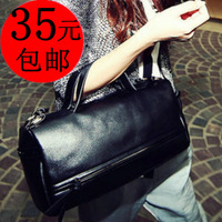 2012 fashion brief shoulder bag handbag female bags bucket handbag motorcycle bag