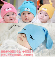 FREE SHIPPING!Newborn tire cap baby hat pocket sleeping hat cap baby cotton cloth cap dodechedron cap 0-3T can use.1pcs/lot
