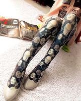 Free Shipping Vintage pantyhose socks stockings personalized socks female