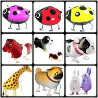 2013 Giraffe Walking Animal Balloons Wholesale Pet Foil Balloons 50Pieces/lot Free Shipping