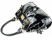2pcs/lot Free shipping PU leather fashion handbags, K pop shoulder bag fold female bag hot selling leisure bag