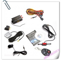 free dhl 5pcs/lot factory price Hot Selling TK103B Car GPS Tracker  with 1 year warrranty