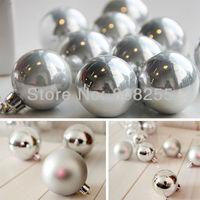 Christmas gift Christmas Tree Ornaments 6cm  Christmas Ball, Free Shipping H007