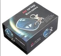 10pcs keychain dv camera 808 case box without camera