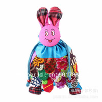 Free shipping National wind of new fund of 2013 hot bunny backpack bags ethnic cloth bags of the girls