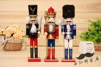 1pcs 30cm flannelet nutcracker birthday gift furniture decoration