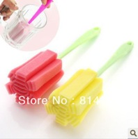 Super Convenient Cup Brushes Soft Sponge Simply Durable Cleaning Brushes Clean your finger never touched 1 piece free shipping