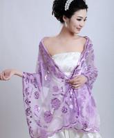 2013 paillette lace embroidery laciness bridal summer cape accessories pj042