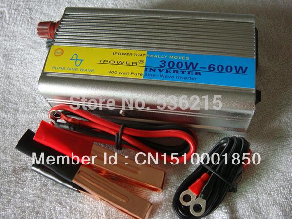 Pure Sine Wave Power Inverter 300W / 600W DC 12V AC TO 210V 220V 230V 240V free shipping(China (Mainland))
