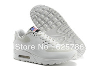 Free Shipping  90 Max Hyperfuse Men's Running Sport Footwear Sneaker Trainers Shoes - White