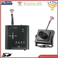 2.4Ghz SD Card Wireless DVR kit with wireless camera ...