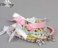 Free Shipping 2013 New lefdy Pet collar bow tie dog accessories teddy bear pet supplies necklace scarf triangle