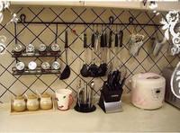 Fashion iron kitchen rack spice rack cutlery rack sl001