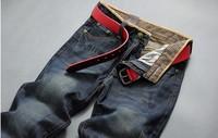 free shipping 2013 hot sales 100% cotton 2013 hot sales designer brand men jeans denim pants trouser M0001