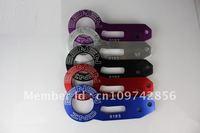 BENEN 0185 Rear Tow Hook Set For Car Automobile(Red,Blue,Black,Silver, Golden colors)