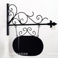 Fashion iron door plate finaning indicator door plate customize