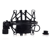 Microphone Shock Mount Cradle Holder Clip Stand For Large Diameter Condenser MIC
