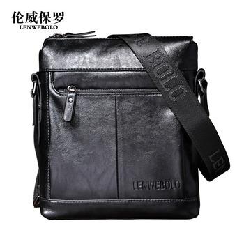 Shoulder bag messenger bag man bag casual soft leather bag fashion 77072