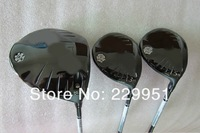 High quality g .  25 woods set Driver+ 3 wood +5 wood 3pcs with graphite shaft free headcover freeshipping