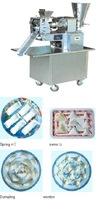 120 type automatic dumpling machine with a water jacket, you can cool down