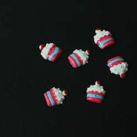 120ct Nail Art Decoration Flower, 3D Nail Resin Flower Polymer, Nail Design Art, Sweet Cake Creative DIY with Free Ship
