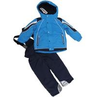 Child ski suit set children outdoor jacket outdoor trousers thickening