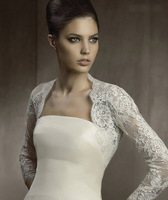 634-1lf 2013 New Beautiful Ivory  Lace Full Stole Wedding Shawls Wraps Shrug Bolero Jacket Bridal Prom