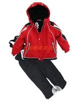 Baby dresses children windproof outdoor jacket ski suit set wadded jacket cotton-padded jacket