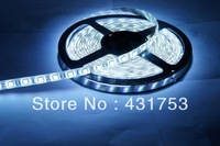(Waterproof) 10 meters/lot 5050 5m 300 Led SMD Led Strip Waterproof 60 Led per meter  White/Blue/Green/Red/Yellow/RGB