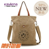 Free shipping , new arrival on sale . Kay lena canvas one shoulder cross-body handbag school bag travel bag casual bag