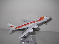 Free shipping!! NEW 1:400 16CM METAL B747-200 Iberia Airlines Retail&Wholesale Plane model toy plane airplane