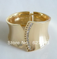 FG048(Min.Order $15)2013 Fashion Jewelry Bracelets & Bangles Novel Modeling Enamel Bangle For Women 18K Gold  Plated Bangle