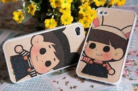 phone case for iPhone 4 4S 5  cartoon lovely color cover