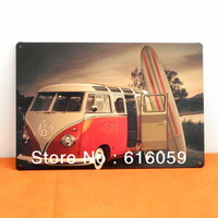 [ Do it ]  Bus Metal tin signs Bar  Home Vintage iron paintings 20*30 CM B-73 Free shipping