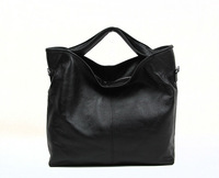 Soft Genuine Leather Woman Handbag Luxury Black Brown Messenger Bag Classic ladie's Small Black Totes Free Shipping