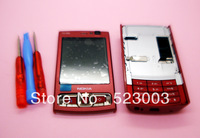 Plastic full housing cover+keyboard+tools for Nokia N95 8GB red+Hongkong post