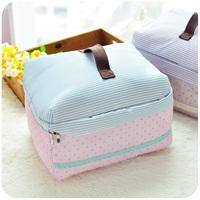 1pc Korea Style High Quality Waterproof Cosmetic bag big capacity toilet kit / traveling wash bag portable Free Shipping